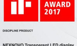NEXNOVO won iF DESIGN AWARD 2017